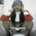 バスガイドさんの和式トイレ排便